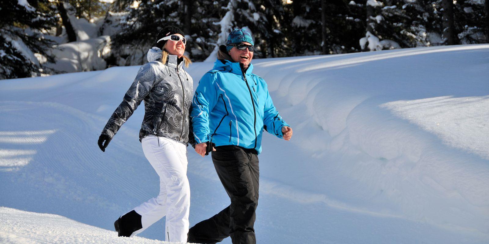 Winter Spaziergang im Zillertal
