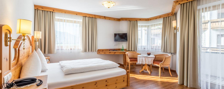 Zirben-Zimmer für 2-3 Personen