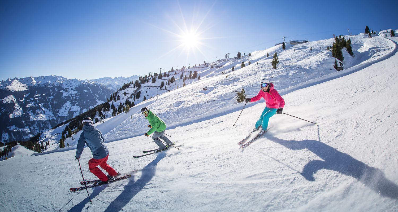Skifahren in Kaltenbach im Zillertal