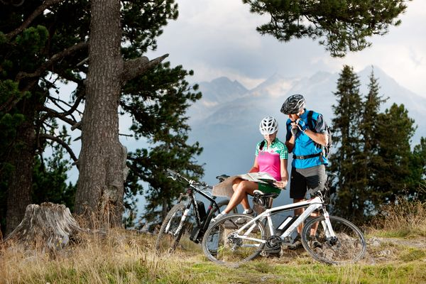 Mountain biking vacation in the Zillertal