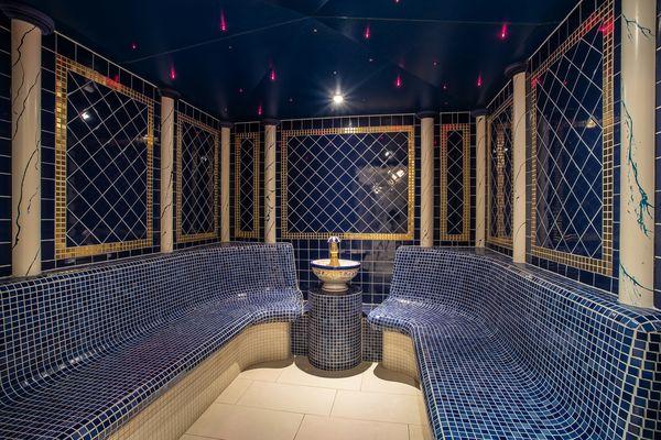 "Like in ""Arabian Nights"" - steam bath in the hotel SPA"