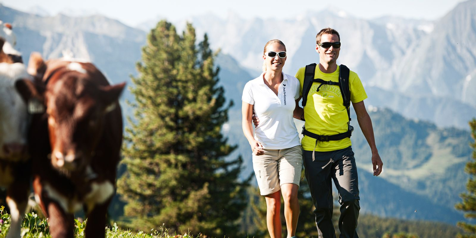 Hiking in the Zillertal mountains
