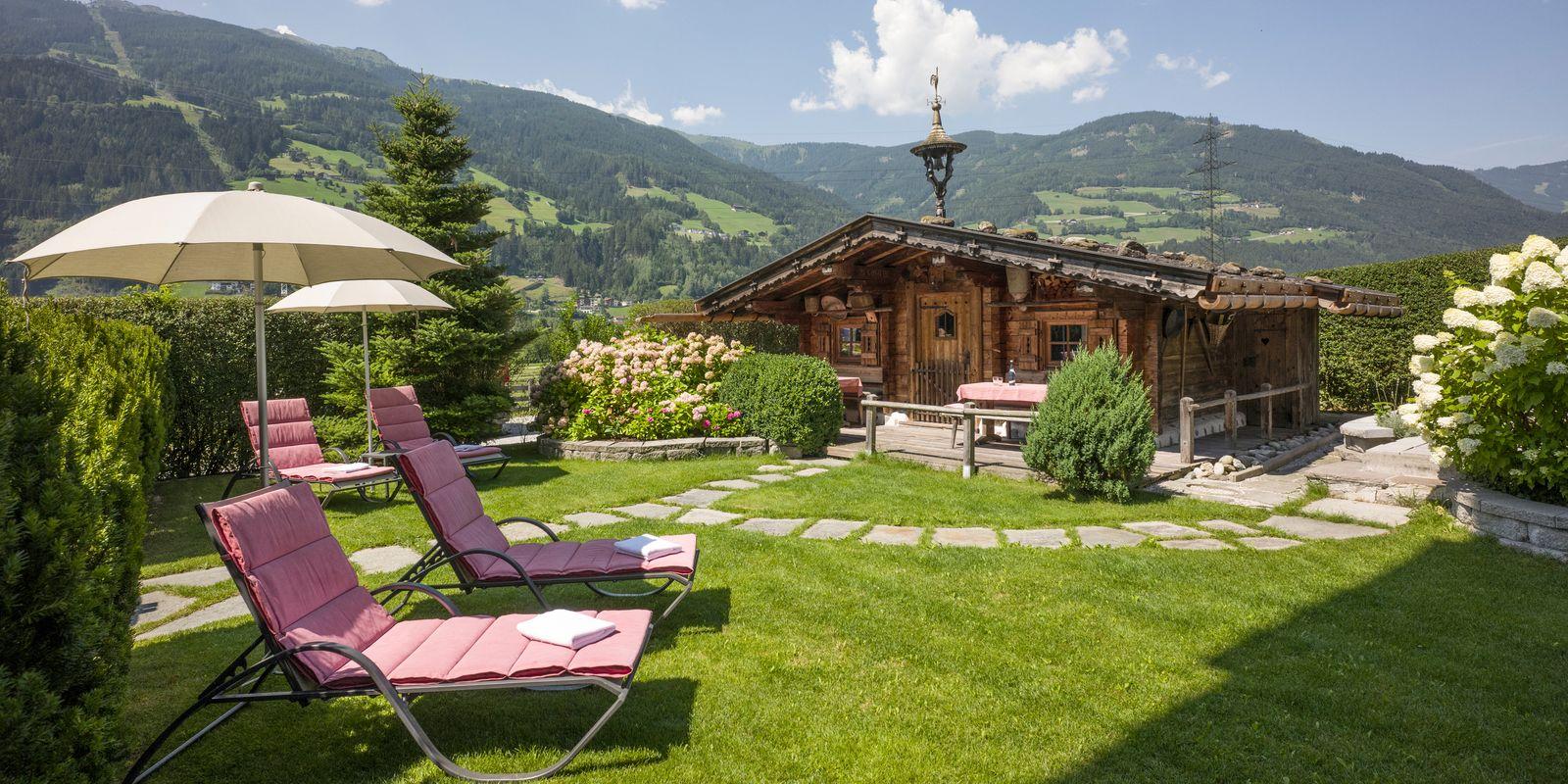 Schöner Garten zum Entspannen