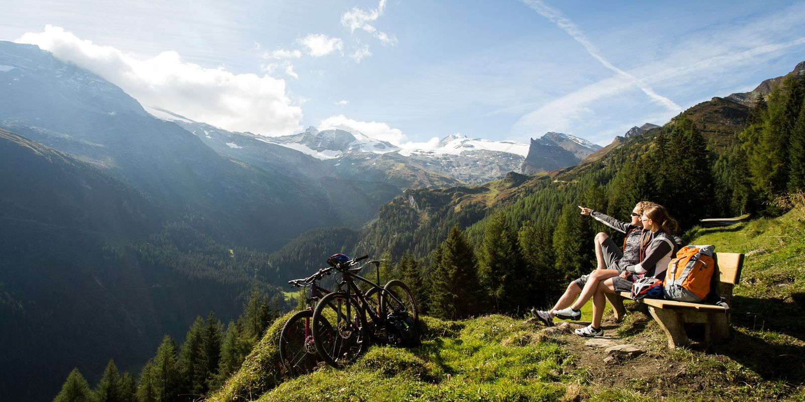 Mountain biking in the Zillertal