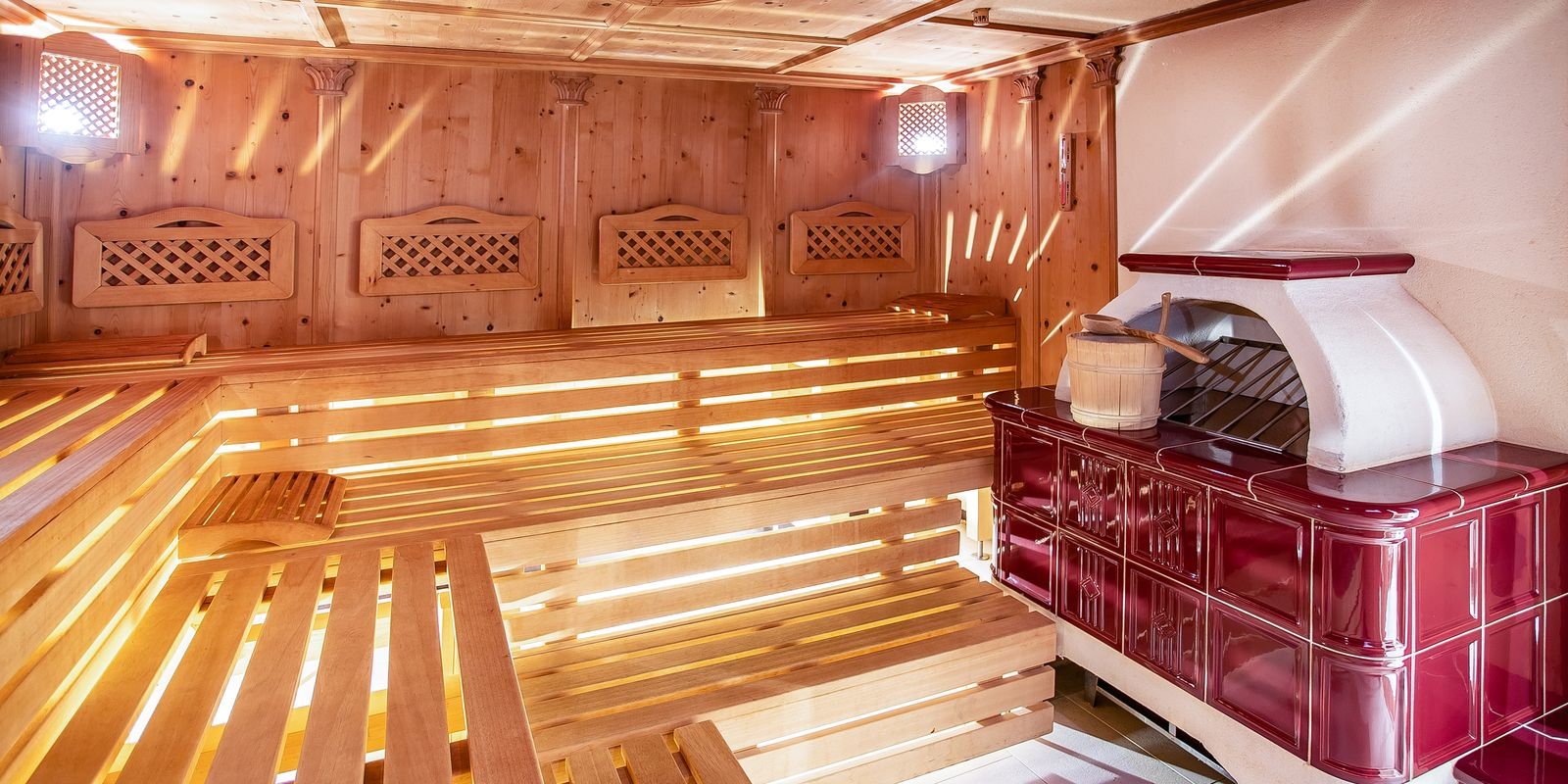 Finnische Sauna im Hotel Riedl