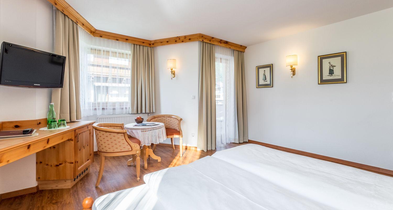 Zirben-Zimmer im Hotel Riedl